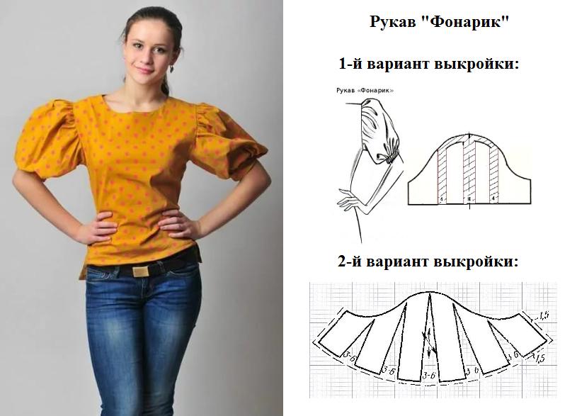 Как сшить рукав модные 752