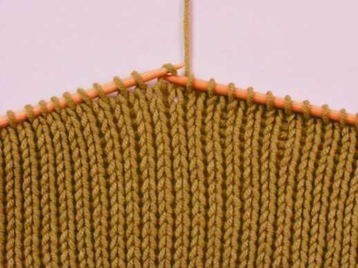 вязание лицевая